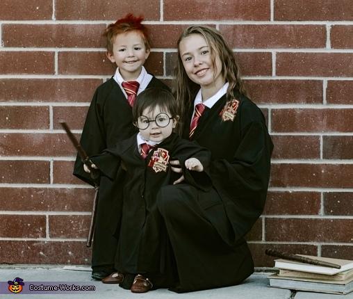 Harry, Ron & Hermione Costume