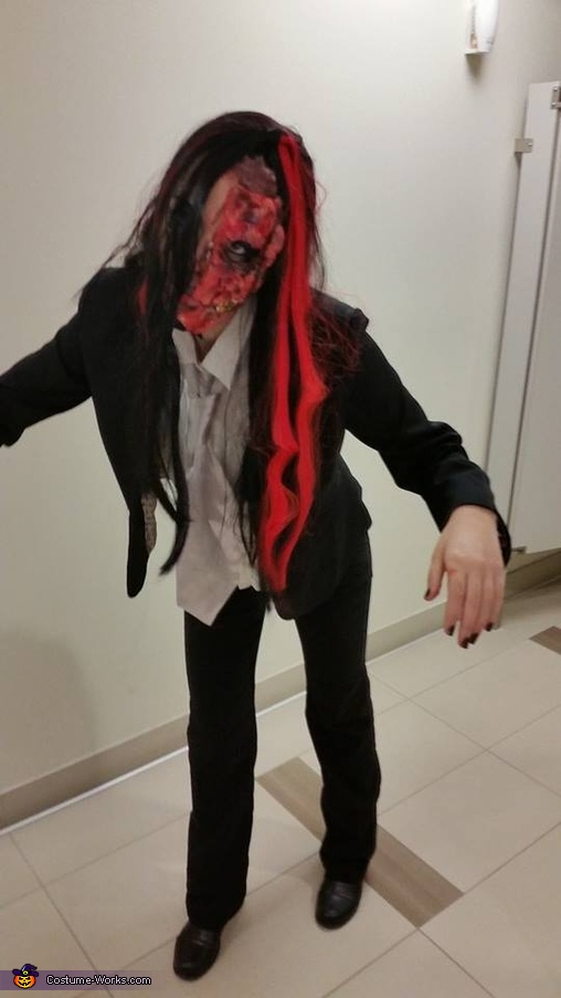 Women's Harvey Dent Two-Face Costume