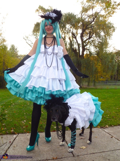 Hatsune Miku, Cameilla Princess - Homemade costumes for women