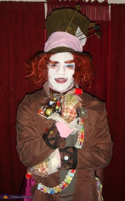 Mad Hatter Character Costume