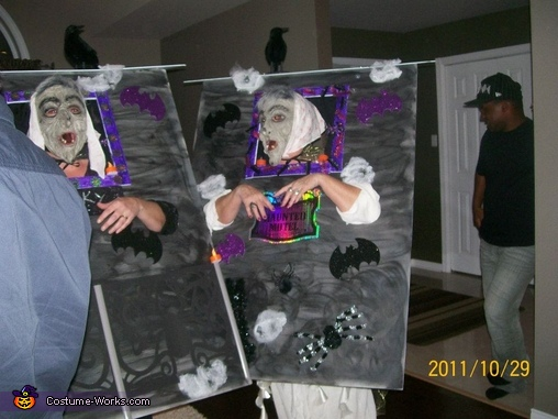 Haunted House Homemade Costume