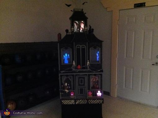 Haunted House Homemade Costume