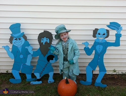 Haunted Mansion Ghosts - Store Bought costumes for boys