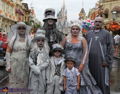 Haunted Mansion Group Costume
