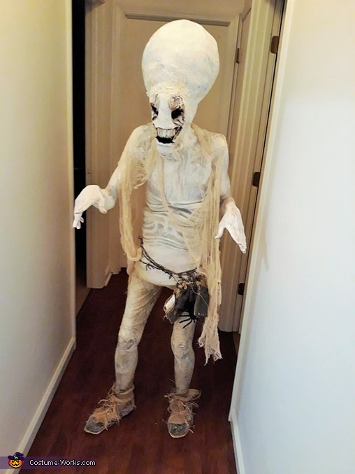 Hauntingly Memorable Alien Costume
