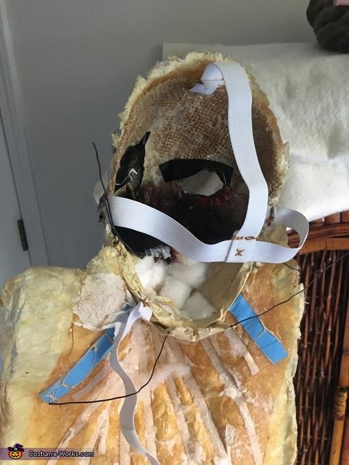Mask my identity, Hauntingly Memorable Alien Costume