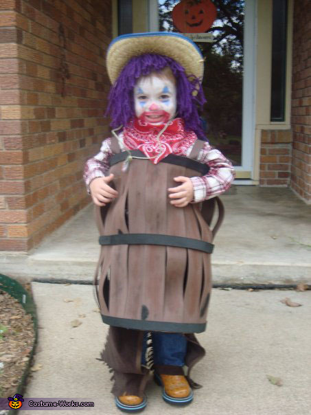 Rodeo Clown - Homemade costumes for boys