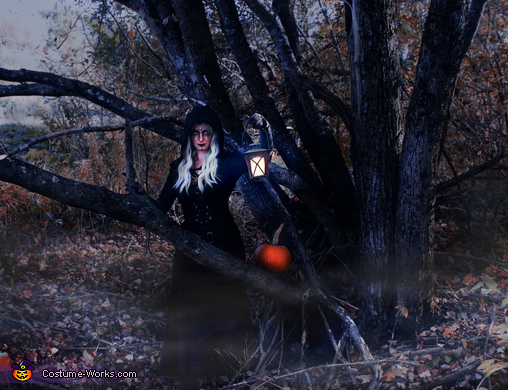 Hazel the Forest Witch Homemade Costume