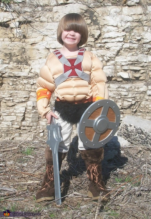 He-Man, He-Man & the Masters of the Universe Family Costume