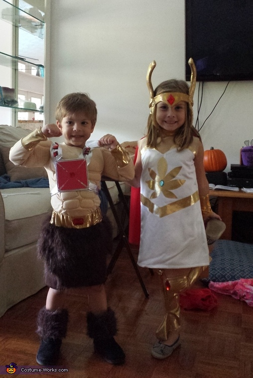He-Man and She-Ra Costume  sc 1 st  Costume Works & He-Man and She-Ra Kids Costume