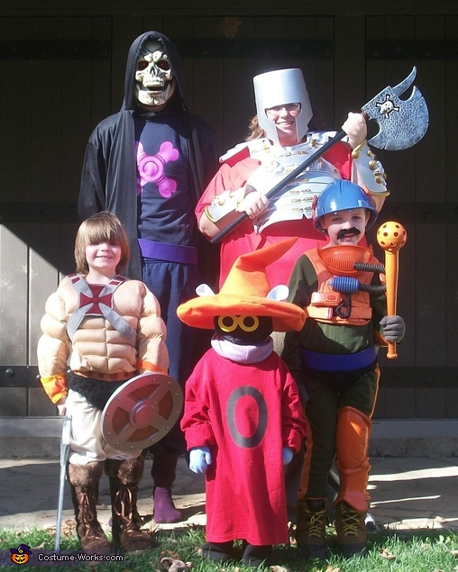He-Man & the Masters of the Universe Family Costume