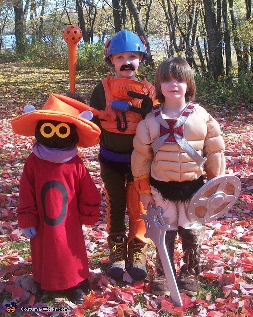 He-Man, Orko & Man-at-Arms, He-Man & the Masters of the Universe Family Costume
