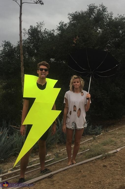He Electrifies Me Costume