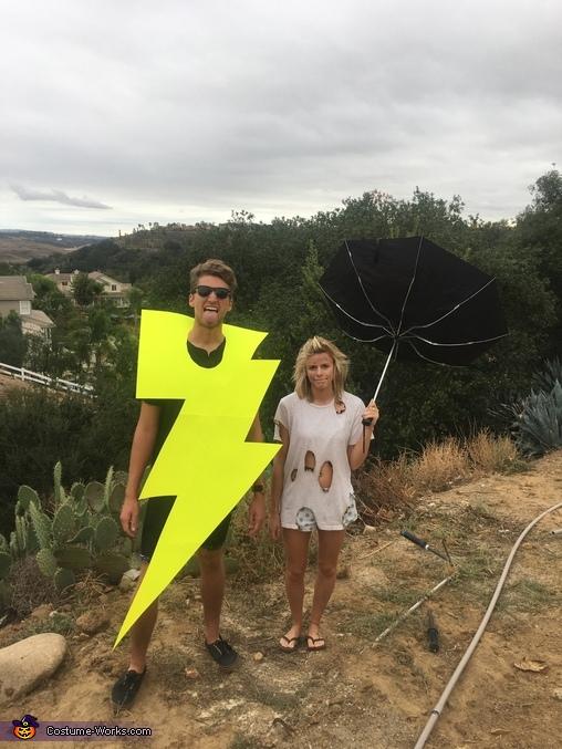 He Electrifies Me Homemade Costume