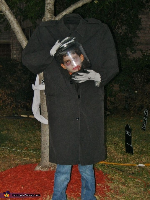 Head-in-a-Jar Costume