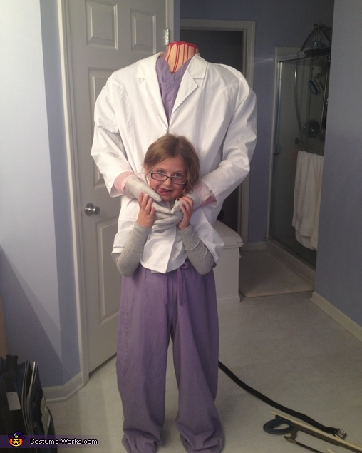 Head Dr. Homemade Illusion Costume