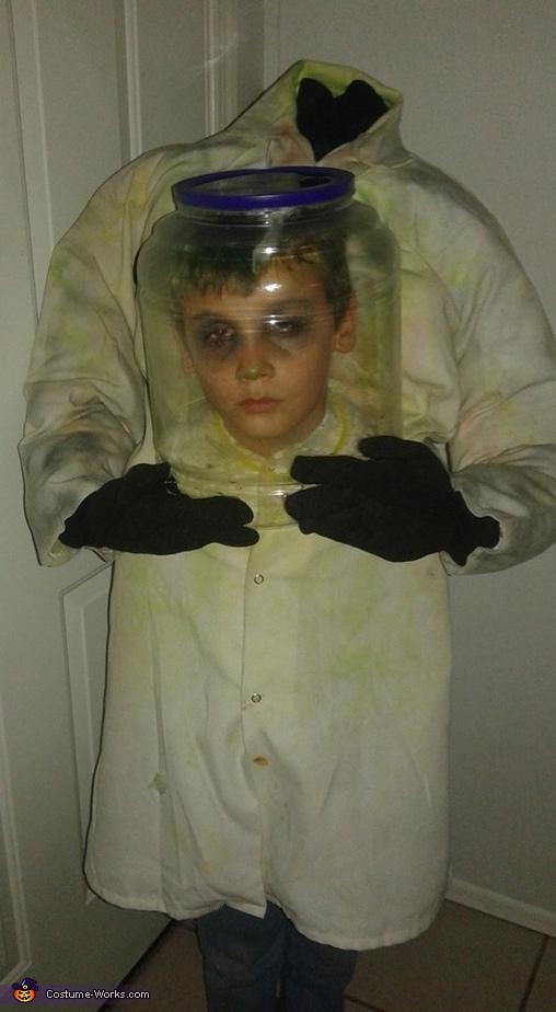 I need my head examined, Head Examination Costume