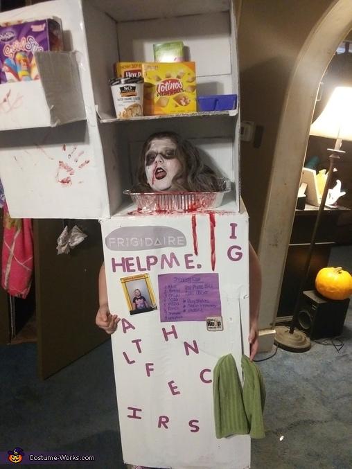 Head in a Freezer Costume