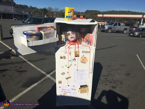Head in the Fridge Costume