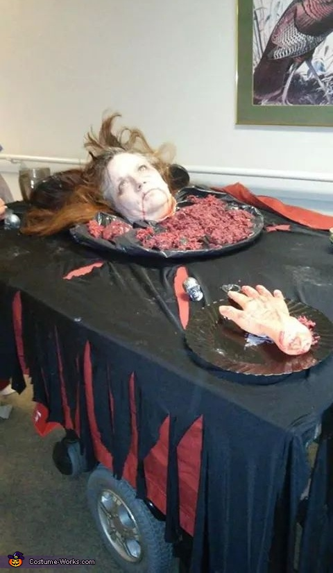 Head on a Platter Costume