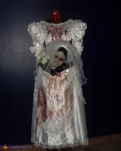 Headless Bride - Homemade costumes for women