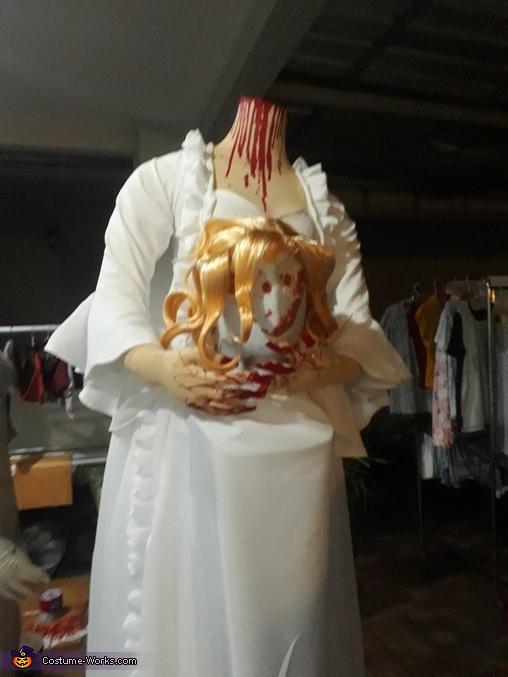 Almost finist costume., Headless Bride Costume
