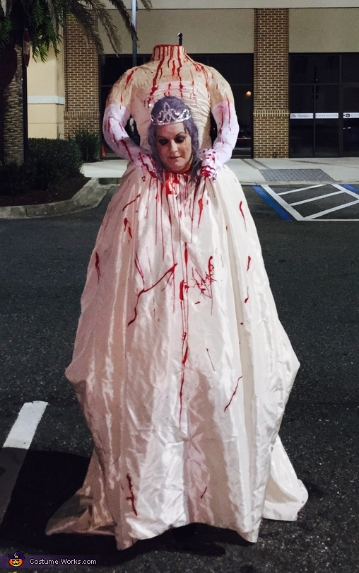 Headless Bride Costume