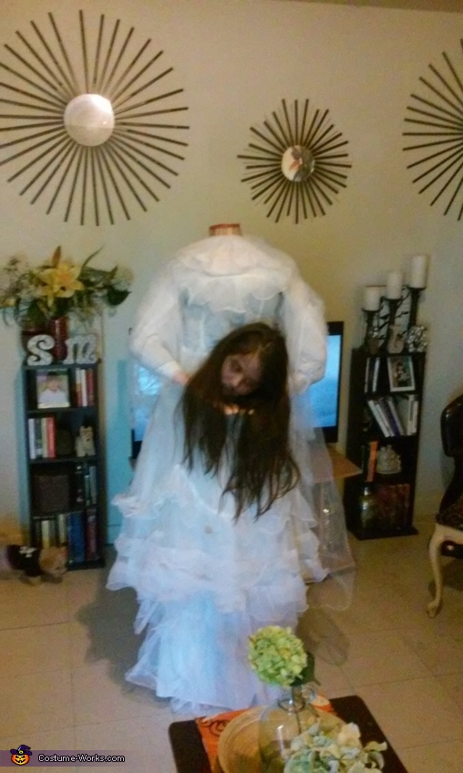 Headless Bride Homemade Costume
