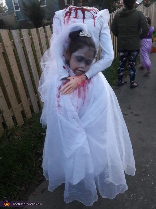 Headless Bride Costume