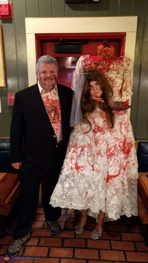 Headless Bride and her Groom Costume