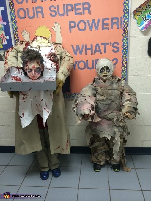 Both , Headless Butcher Costume