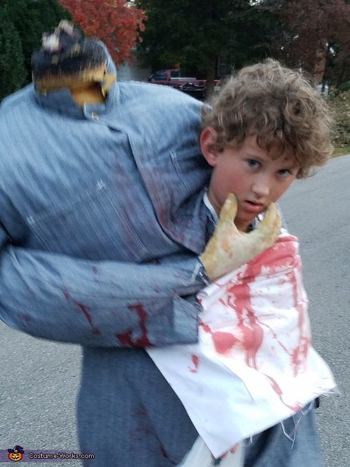 Headless Butcher Homemade Costume