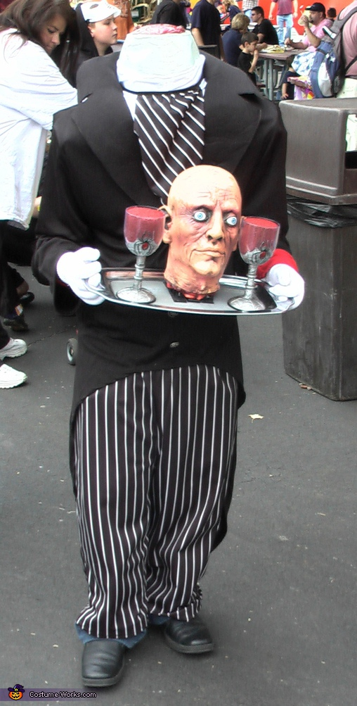 Headless Butler Costume