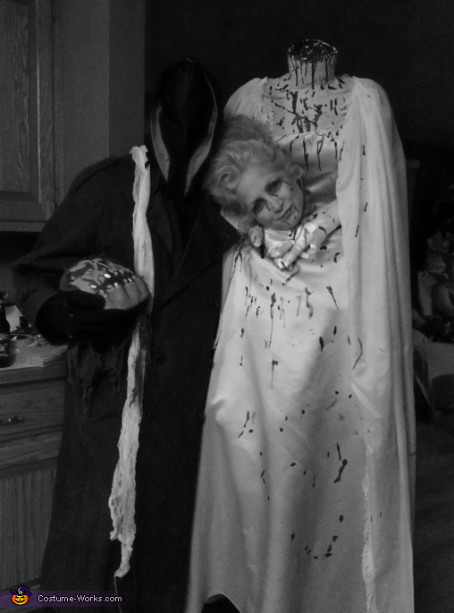 Headless Couple Homemade Costume