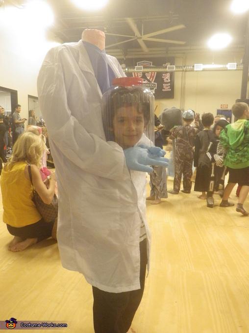 Headless Doctor Homemade Costume