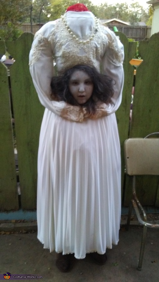 Kid Ghost Costume Homemade