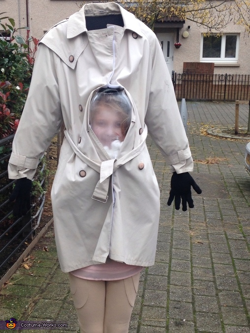 Headless Girl Homemade Costume