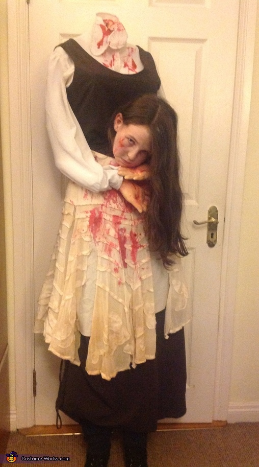 Headless Girl Halloween Costume