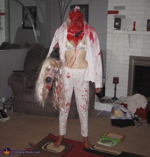 Headless Honey, Headless Guy Costume