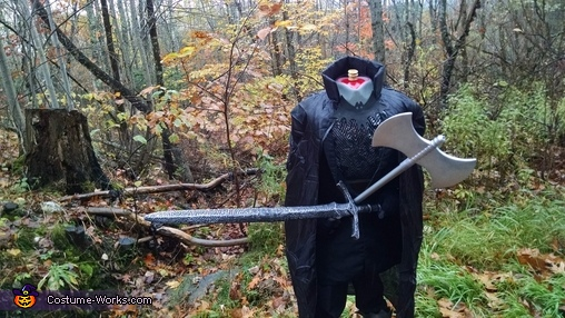 The Headless Horseman of Sleepy Hollow, The Headless Horseman of Sleepy Hollow Costume