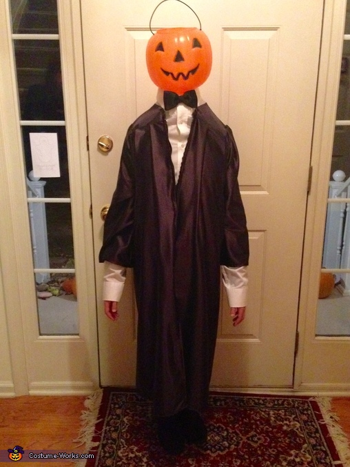 Headless Horseman Homemade Costume