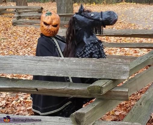 Headless Horseman Homemade Costume