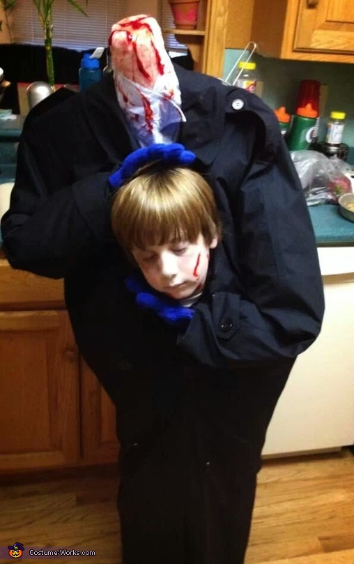 Headless Kid Costume