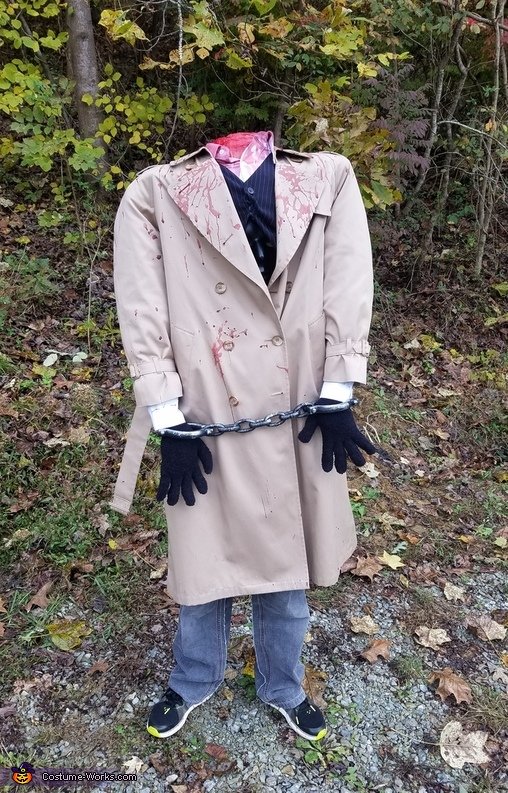 Headless Lawyer Costume