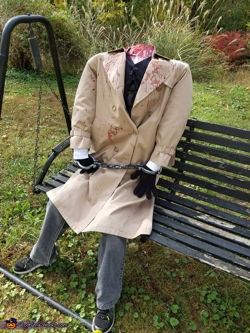 Comfortable to sit in, Headless Lawyer Costume