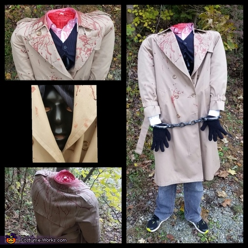 Headless Lawyer Homemade Costume