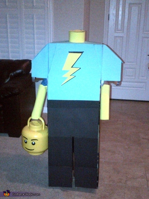 Headless Lego Guy Costume