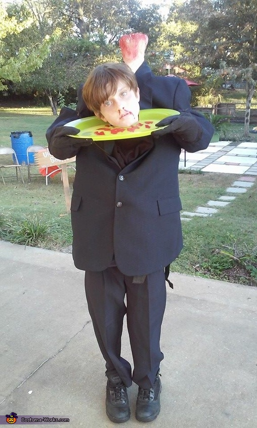 Headless Man Costume