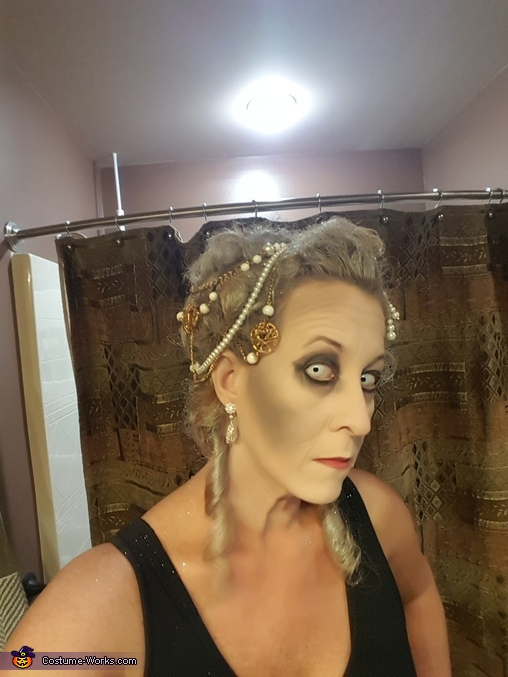 Hair and Makeup Marie Antoinette, Headless Marie Antoinette Costume