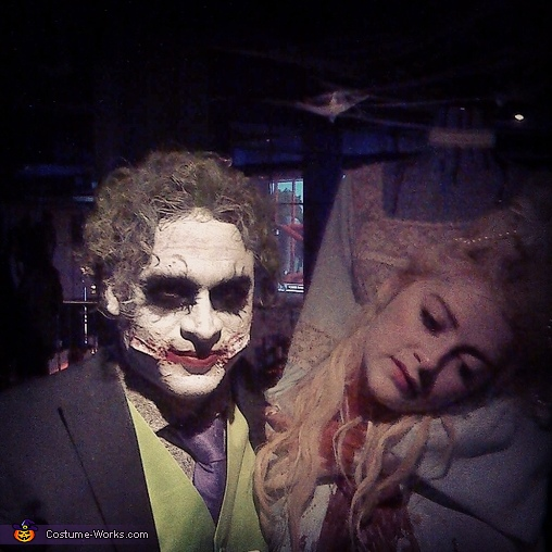 The Joker and I became fast friends, Headless Marie Antoinette Costume